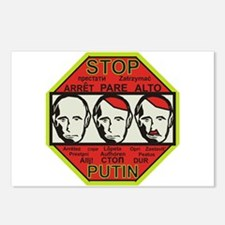 Stop Putin Postcards (Package of 8)