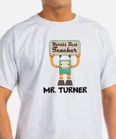 Best Teacher Personalized T-Shirt