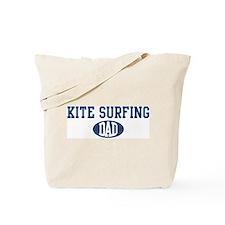 Kite Surfing dad Tote Bag