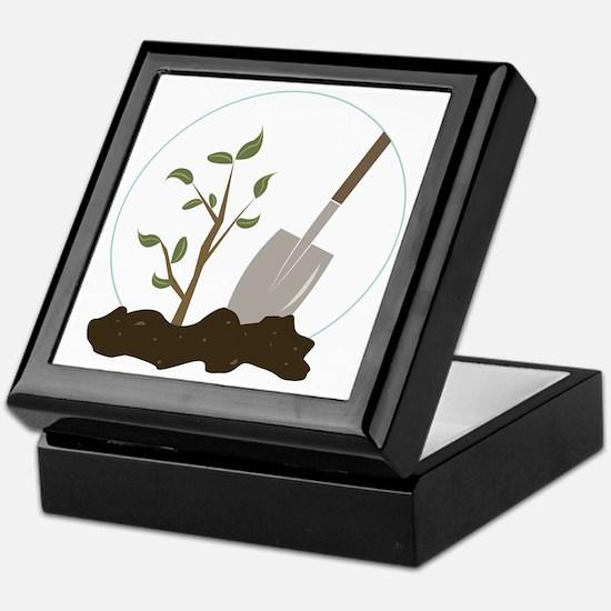 Tree Planting Keepsake Box