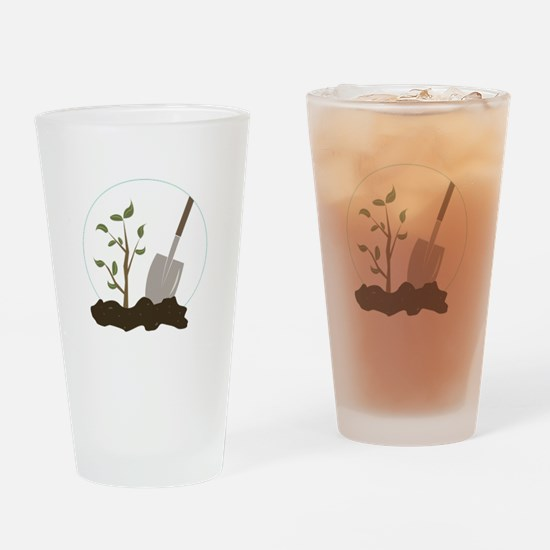 Tree Planting Drinking Glass