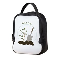 Hug A Tree Neoprene Lunch Bag