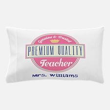 Teacher Vintage Personalized Pillow Case