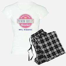 Teacher Vintage Personalized Pajamas