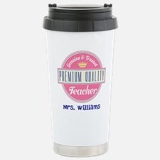 Teacher Vintage Personalized Travel Mug