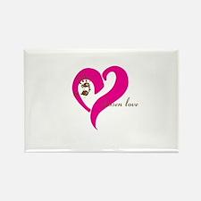 chosen love - pink/brown Magnets