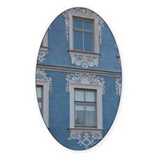 Germany, Bamberg. Ornate blue & whi Decal