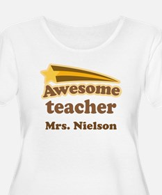 Awesome Teacher gift Plus Size T-Shirt