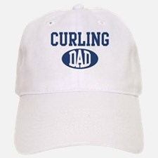 Curling dad Baseball Baseball Cap