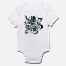 Marshall Tartan Lion Infant Bodysuit