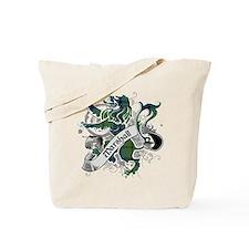 Marshall Tartan Lion Tote Bag