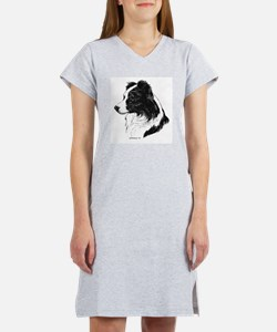 Border Collie Women's Nightshirt