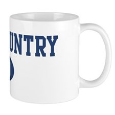 Cross Country dad Mug