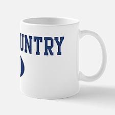 Cross Country dad Mug