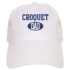 Croquet dad Baseball Cap