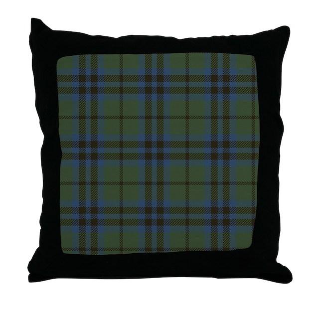 Decorative Pillows From Marshalls : Marshall Tartan Throw Pillow by ScottishTartans3