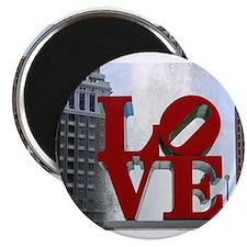 "Cute Love sculpture 2.25"" Magnet (100 pack)"