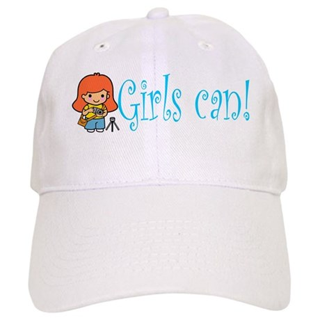 Girl Photographer Cap