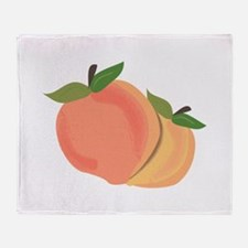 Peaches Throw Blanket