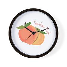 Southern Peach Wall Clock