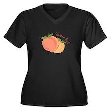 Southern Peach Plus Size T-Shirt