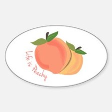 Life Is Peachy Decal