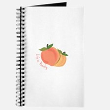 Life Is Peachy Journal