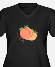 Life Is Peachy Plus Size T-Shirt