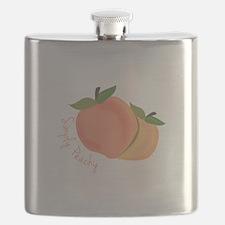 Simply Peachy Flask