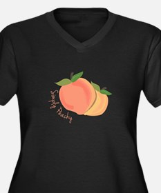 Simply Peachy Plus Size T-Shirt