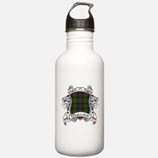 Malcolm Tartan Shield Water Bottle