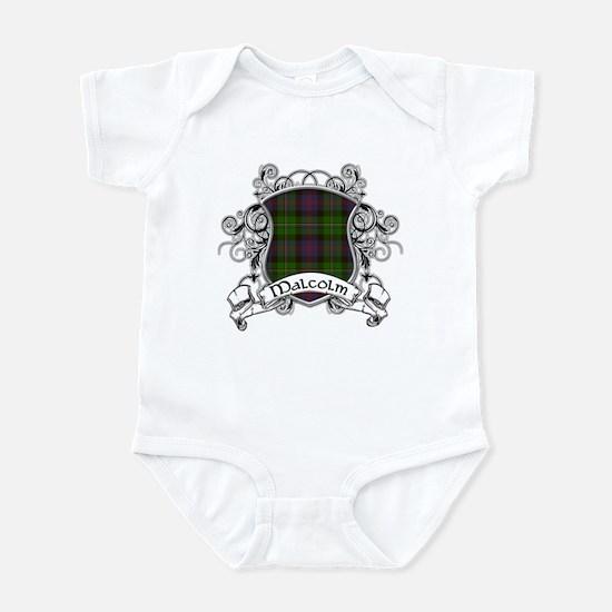 Malcolm Tartan Shield Infant Bodysuit
