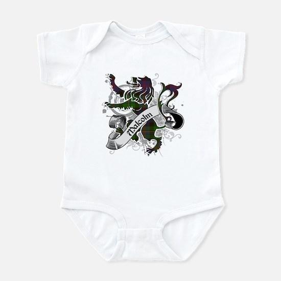 Malcolm Tartan Lion Infant Bodysuit