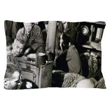 World War II. Sandbostel Concentration Pillow Case