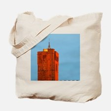 The black basalt lava stone cathedral. Ag Tote Bag