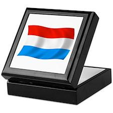 Luxembourg Flag Keepsake Box