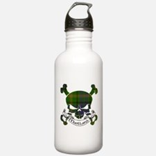 Maitland Tartan Skull Water Bottle