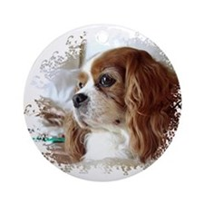 Cavalier King Charles Spaniel Ornament (Round)