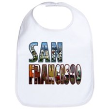 Unique Golden gate Bib
