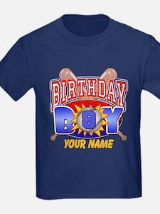 Baseball 8th Birthday T