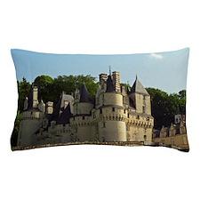 The Chateau d'Usse in Loire, the castl Pillow Case