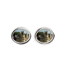 The Chateau d'Usse in Loire, the ca Oval Cufflinks