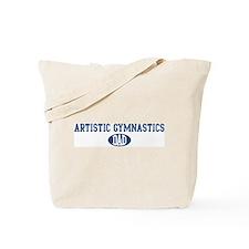 Artistic Gymnastics dad Tote Bag