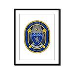 USS Callaghan Framed Panel Print