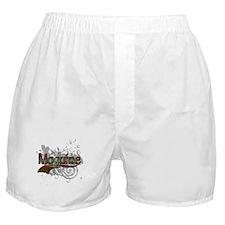 Maguire Tartan Grunge Boxer Shorts