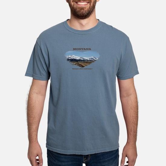 Montana Dirt Roads T-Shirt