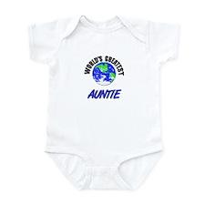 World's Greatest AUNTIE Infant Bodysuit