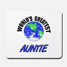 World's Greatest AUNTIE Mousepad
