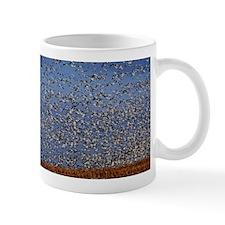 Geese In Flight Mugs