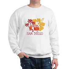 San Diego Hippie Surf Bus Sweatshirt